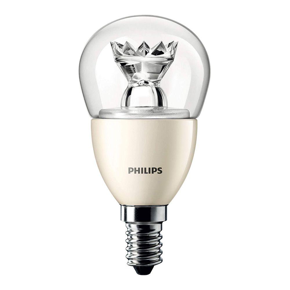 Philips LEDluster E14 P50 8W 827 Helder MASTER   DimTone Dimbaar - Vervangt 60W