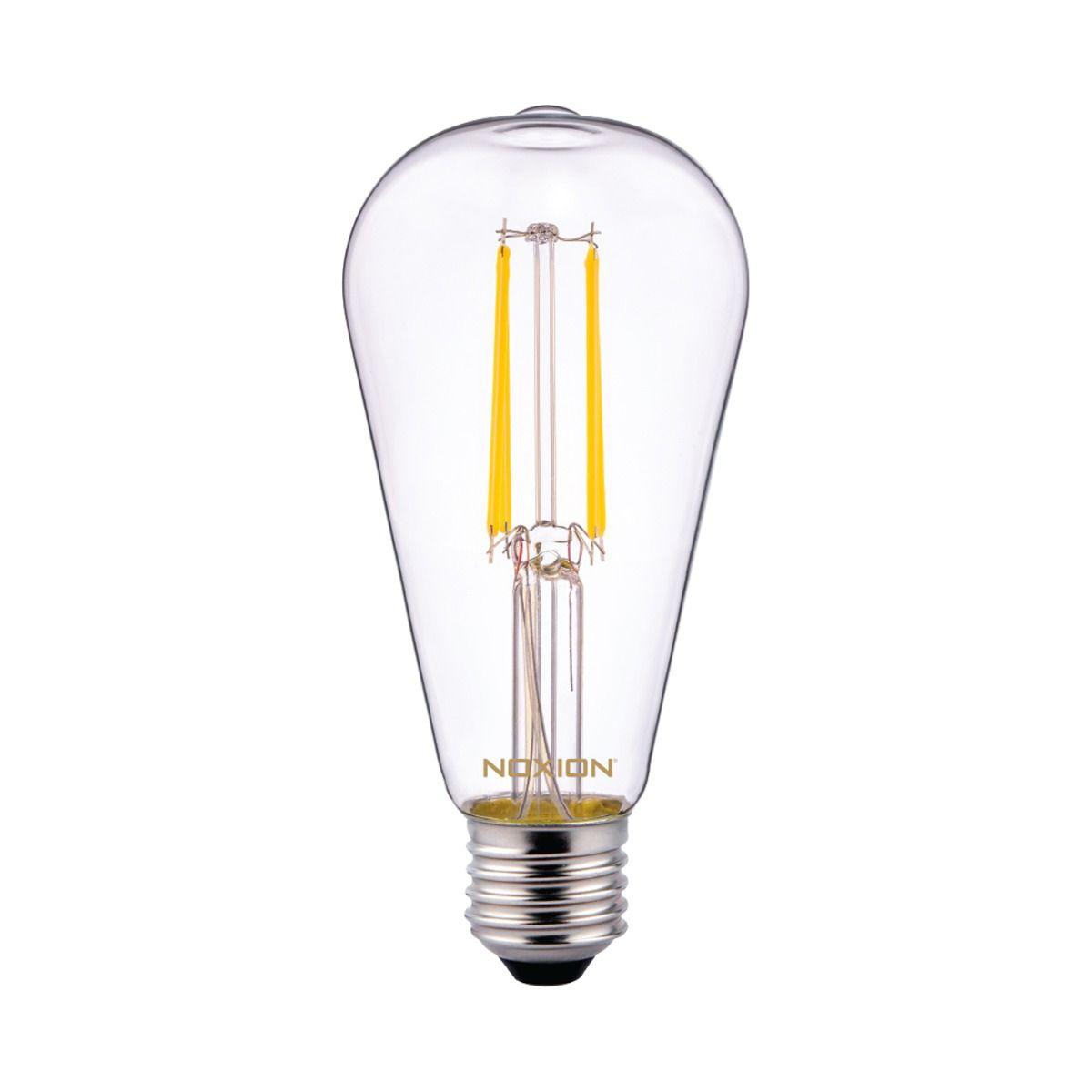 Noxion Lucent Klassiek LED Gloeilamp ST64 E27 6.5W 827 Helder   Vervanger voor 60W