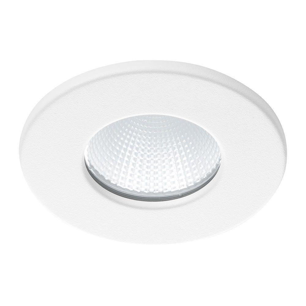 Noxion LED Spot Ember IP65 Fireproof 2700K Wit 6W | Dimbaar