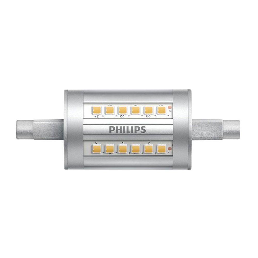 Philips CorePro LEDlinear R7s 7.5W 830 78mm | Vervangt 60W