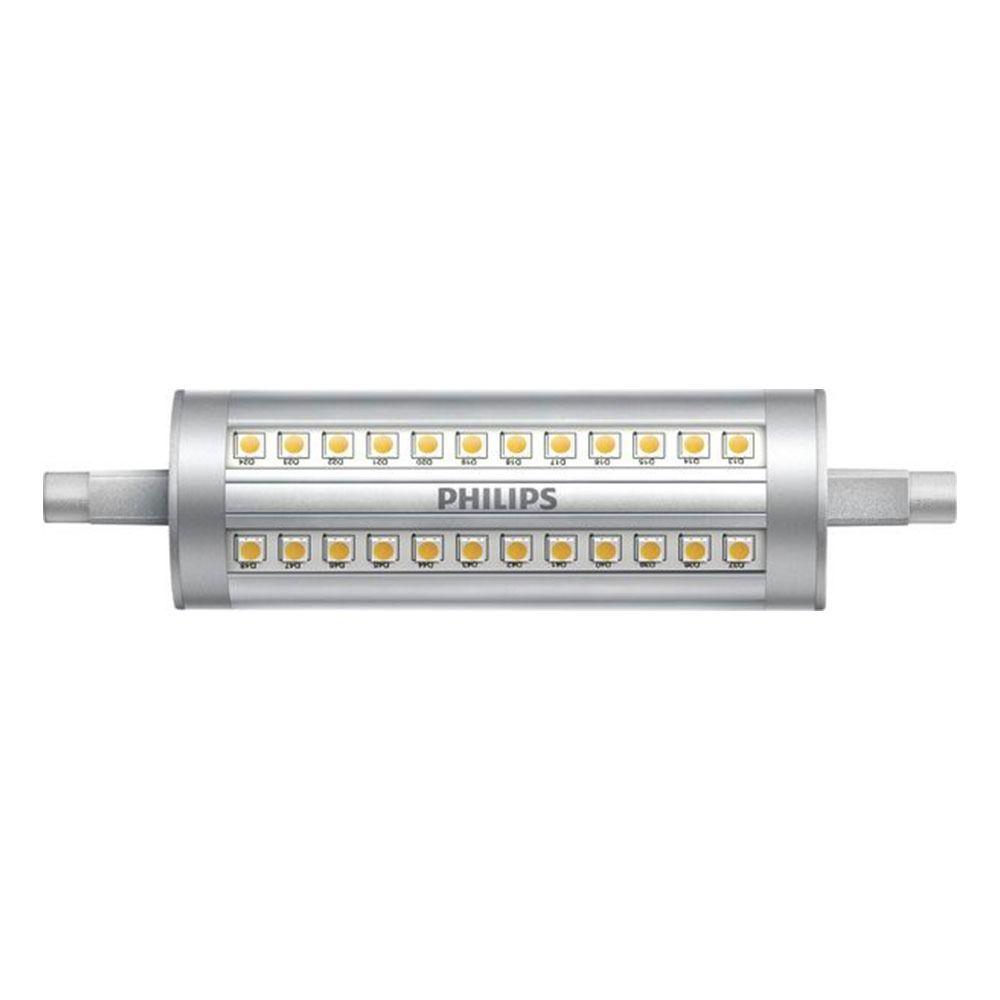 Philips CorePro LEDlinear R7s 14W 830 118mm   Dimbaar - Vervangt 120W