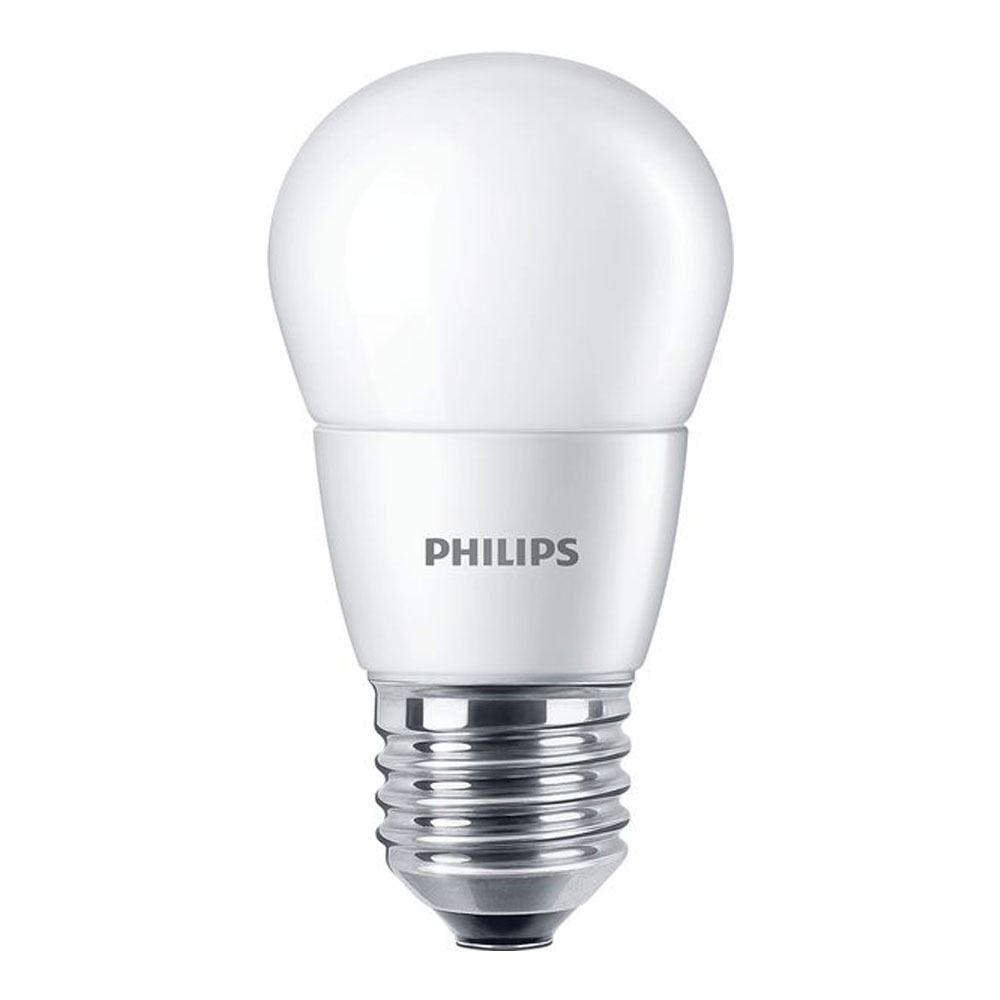Philips CorePro LEDlustre E27 P48 7W 827 Mat | Vervangt 60W