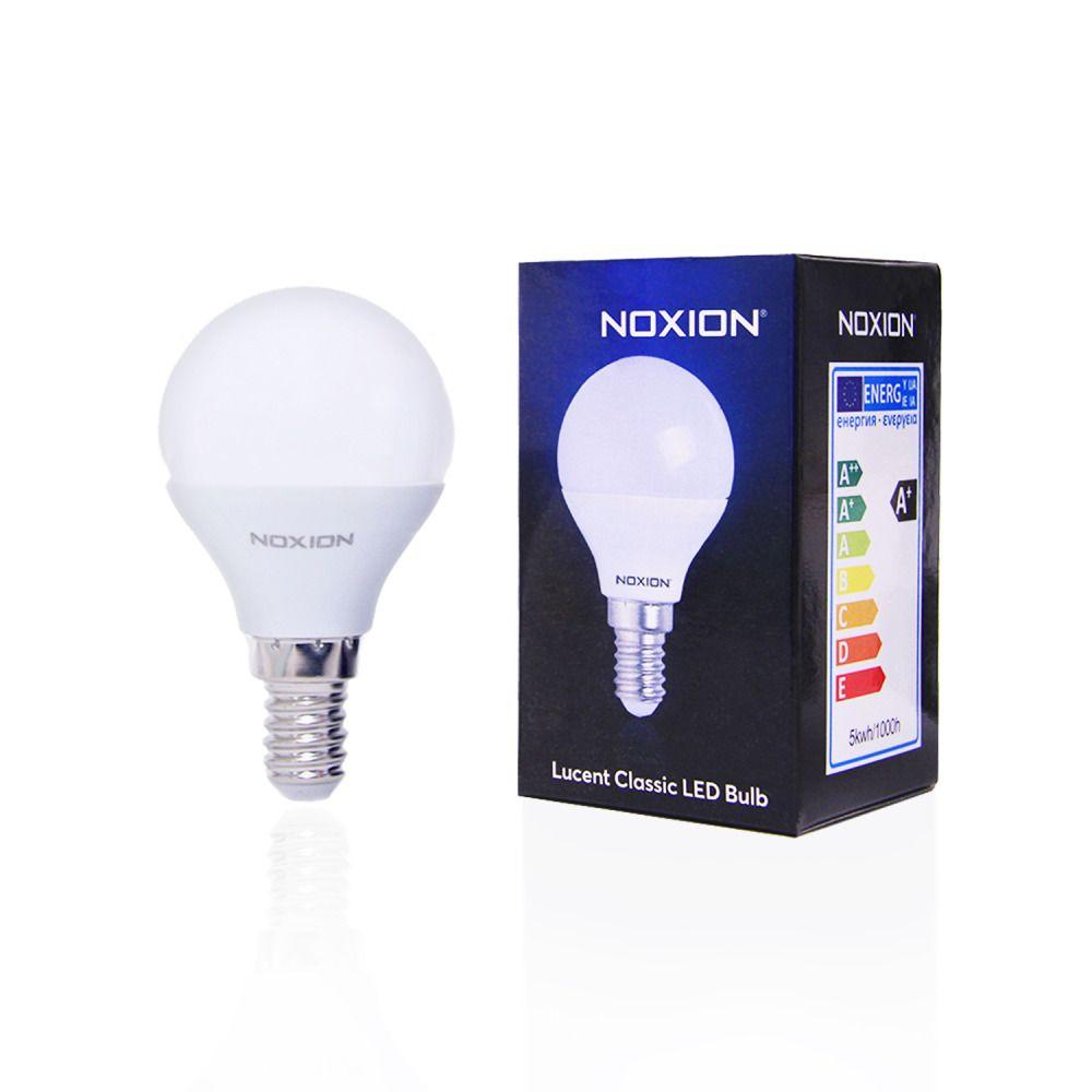 Noxion Lucent LED Classic Lustre 5W 827 P45 E14 | Vervanger voor 40W