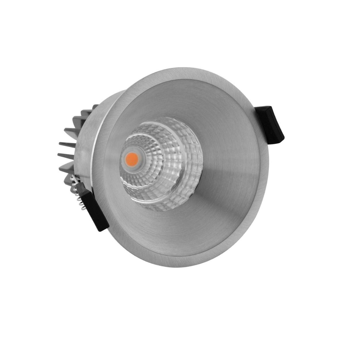 Noxion LED Spot Starlight IP54 2700K Aluminium 6W | Dimbaar