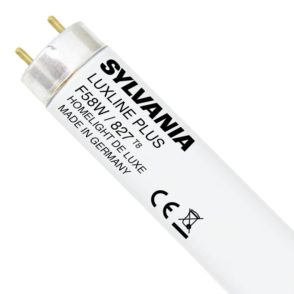 Sylvania T8 Luxline Plus F58W 827   150cm