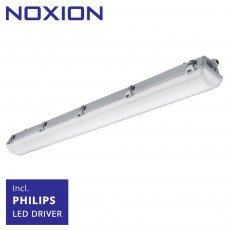 Noxion Waterdicht LED TL Armatuur Pro 120cm 4000K 2650lm | (5x2.5mm2) - Vervangt 1x36W