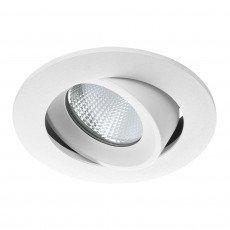 Noxion LED Spotlight Aqua COB Alu IP65 Fire Rated 6W 927 Cut. Ø92mm 30° tilt. dimmable
