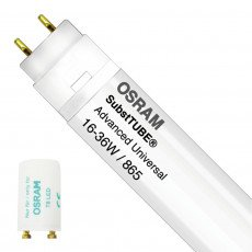 Osram SubstiTUBE Adv Universal T8 - 7.5W 865 60 cm - incl. starter