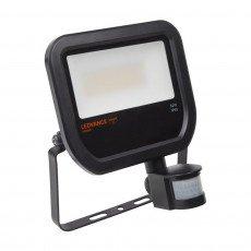 Ledvance LED Breedstraler 50W 4000K 4750lm IP65 Zwart   met Sensor - Vervangt 100W