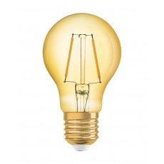 Osram Vintage 1906 LED E27 A60 2.5W 825 Gold | Replaces 22W