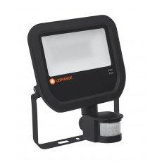 Ledvance LED Breedstraler 50W 4000K 5500lm IP65 Zwart | met Sensor - Vervangt 100W