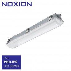 Noxion Waterdicht LED TL Armatuur Pro 60cm 4000K 2550lm | (5x2.5mm2) - Vervangt 2x18W