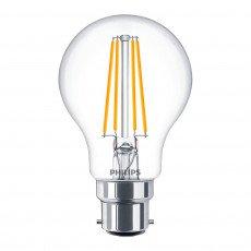 Philips Classic LEDbulb B22 A60 8W 827 Helder | Extra Warm Wit - Dimbaar - Vervangt 60W