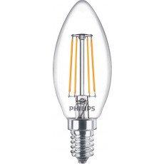 Philips Classic LEDcandle E14 B35 4.3W 827 Helder   Vervangt 40W