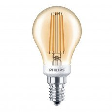 Philips Classic LEDLuster 5-35W 825 E14 Gold Dimbaar