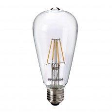 Sylvania ToLEDo Retro Edison E27 ST64 4W Helder | Vervangt 40W