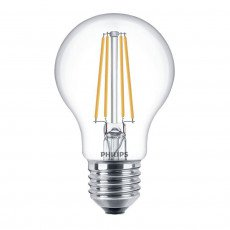 Philips Classic LEDBulb 8-60W 827 E27 Clear Dimbaar