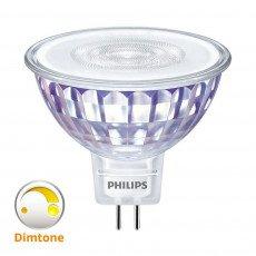 Philips LEDspot VLE GU5.3 MR16 5W 827 36D MASTER | DimTone Dimbaar - Vervangt 35W