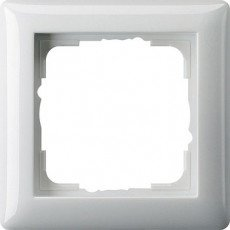 Gira Standard 55 Afdekraam 1-voudig Pure Wit Glanzend - 021103