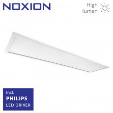 Noxion LED Paneel Pro HighLum 30x120cm 3000K 43W UGR<19 | Vervangt 2x36W