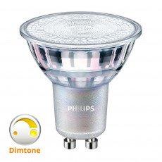 Philips LEDspot MV Value GU10 3.7W 927 36D MASTER | DimTone Dimbaar - Vervangt 35W