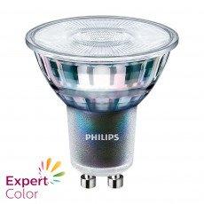 Philips LEDspot ExpertColor GU10 MASTER   Dimbaar - Vervangt 35W