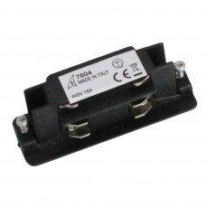 3 phase straight connector mechanic V/I - Zwart
