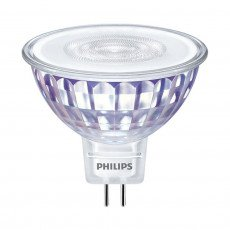 Philips LEDspot LV Value GU5.3 MR16 5.5W 827 60D MASTER | Dimbaar - Vervangt 35W