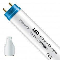 Philips CorePro LEDtube 1200mm 14.5W 865 T8 Glas - Vervanger voor 36W TL