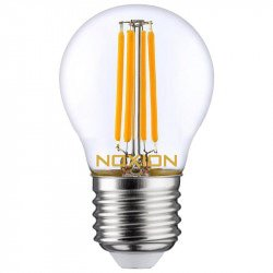 Noxion Lucent Filament LED Lustre P45 E27 4.5W 827   Dimbaar - Vervangt 40W