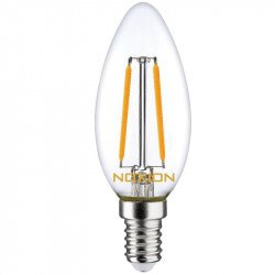 Noxion Lucent Filament LED Candle B35 E14 2.7W 827   Vervangt 25W