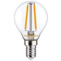 Noxion Lucent Filament LED Lustre P45 E14 2.7W 827 | Vervangt 25W