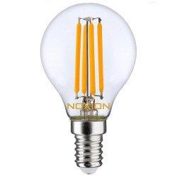 Noxion Lucent Filament LED Lustre P45 E14 4.5W 827 | Dimbaar - Vervangt 40W