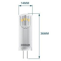 Osram Parathom Pin G4 1.8W 827 Helder | Vervangt 20W