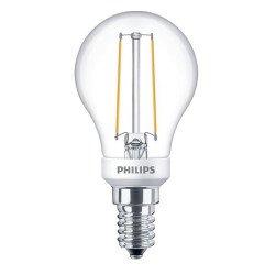 Philips Classic LEDlustre E14 P45 2.7W 827 Helder   Dimbaar - Vervangt 25W