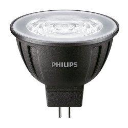 Philips LEDspot LV GU5.3 MR16 8W 840 24D MASTER   Dimbaar - Vervangt 50W