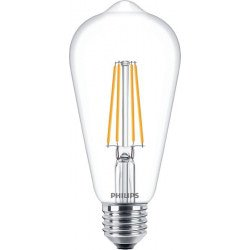 Philips Classic LEDbulb E27 Edison 8W 827 Helder | Dimbaar - Vervangt 60W