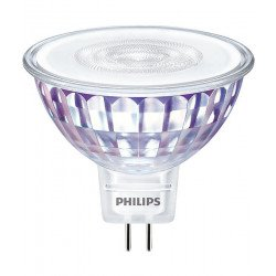 Philips LEDspot VLE GU5.3 MR16 7W 827 36D MASTER   Dimbaar - Vervangt 50W