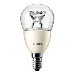 Philips LEDluster E14 P50 8W 827 Helder MASTER | DimTone Dimbaar - Vervangt 60W