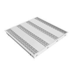 Noxion LED Paneel Louvre Excell G2 60x60cm 3000K 34W UGR<15 Mat Reflector | Dali Dimbaar - Vervanger voor 4x14W