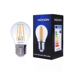 Noxion Lucent Kooldraad LED Lustre 4.5W 827 P45 E27 Helder | Vervanger voor 40W