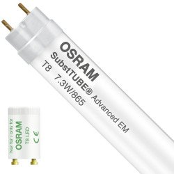 Osram SubstiTUBE Advanced EM 7.3W 865 60cm   Daylight - incl. LED Starter - Replaces 18W - Rotatable