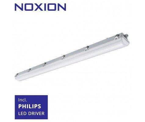 Noxion Waterdicht LED TL Armatuur Pro 150cm 6500K 8250lm | (5x2.5mm2) - Vervangt 2x58W