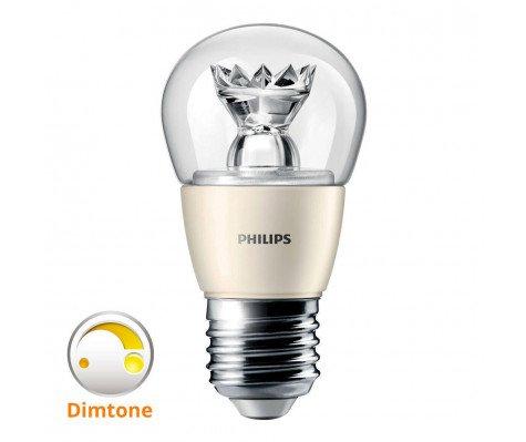 Philips LEDluster E27 P48 6W 827 Helder MASTER   DimTone Dimbaar - Vervangt 40W