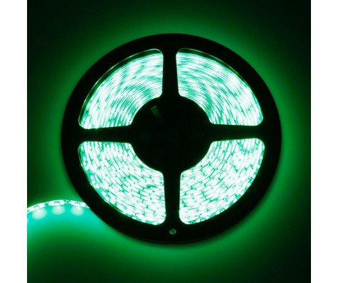 LED strip 5M 24W Green
