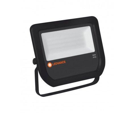 Ledvance LED Breedstraler 50W 3000K 5250lm IP65 Zwart | Vervangt 100W