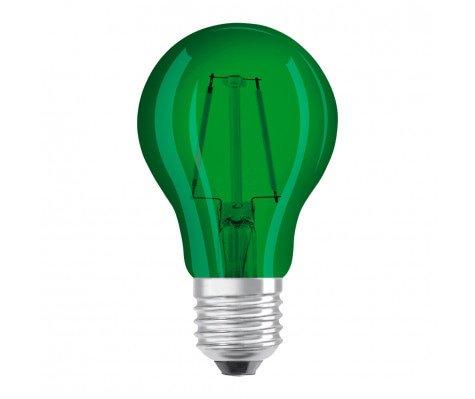 Osram LED STAR DECO Classic A Color E27 2.5W Groen Helder   Vervangt 15W