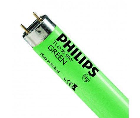 Philips TL-D Colored 58W Green 1SL/25