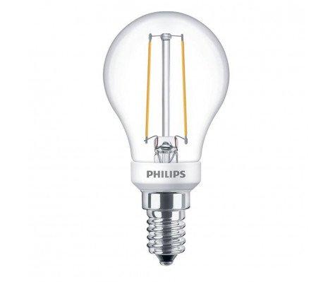 Philips Classic LEDlustre E14 P45 2.7W 827 Helder | Dimbaar - Vervangt 25W