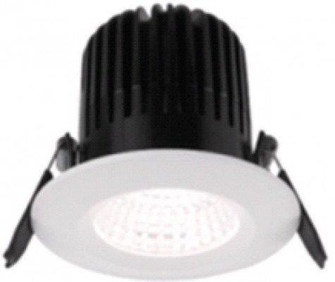 Noxion LED Spotlight Forseti COB Alu IP44 6W 927 Cut. Ø72mm dimmable